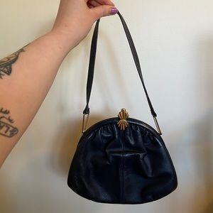 Vintage Leather La Belle handbag
